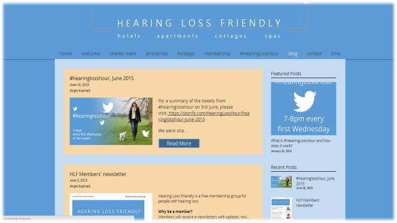 Hearing Loss Friendly's Blog