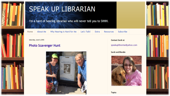 Speak Up Librarian's Blog