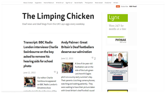 Limping Chicken's Blog