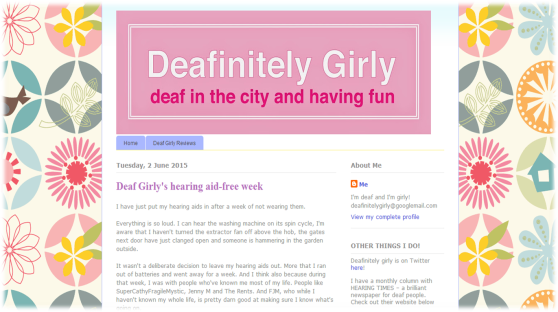 Deafinitely Girly's Blog