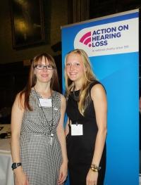With Johanna Taylor, Senior Campaigner AOHL
