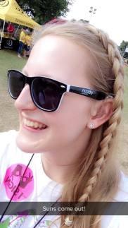 Rocking the Oticon shades!