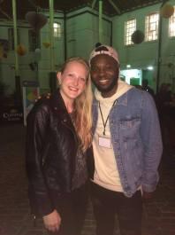 With Chris Fonseca, Deaf Dancer
