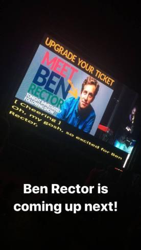 Headliner Ben Rector performing!