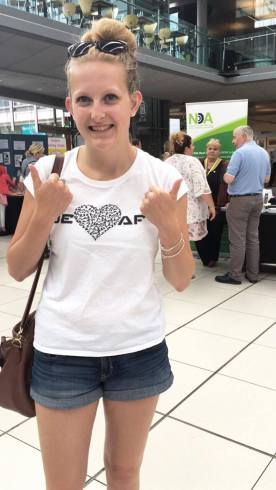 At the Summer Deaf Festival