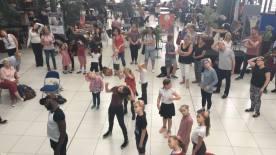 Everyone taking part in Chris Fonseca's Dance Workshop