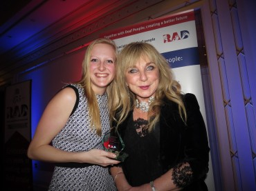 With the amazing Helen Lederer!