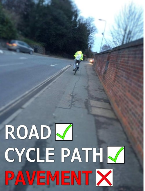 Road Cycle Path Pavement