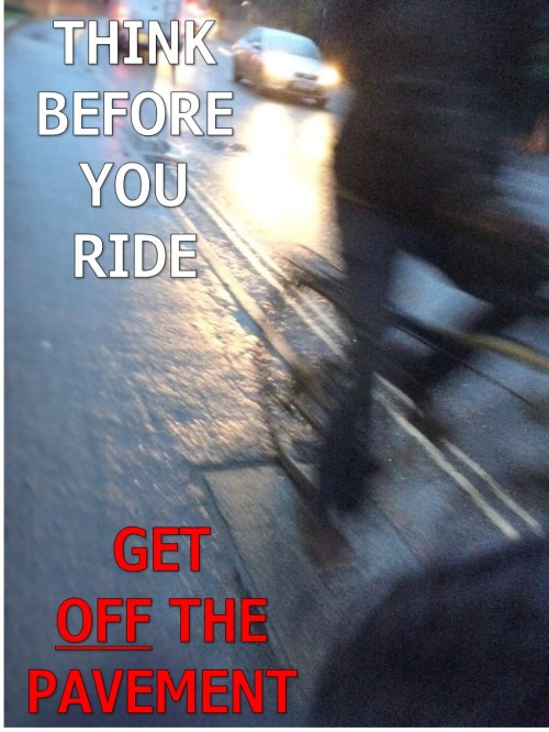 Think Before You Ride
