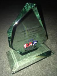 My trophy!