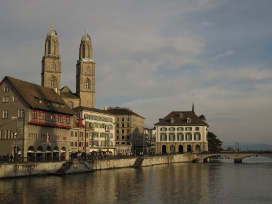 Zurich by the river