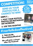 Summer Deaf Festival Photo Competition Poster